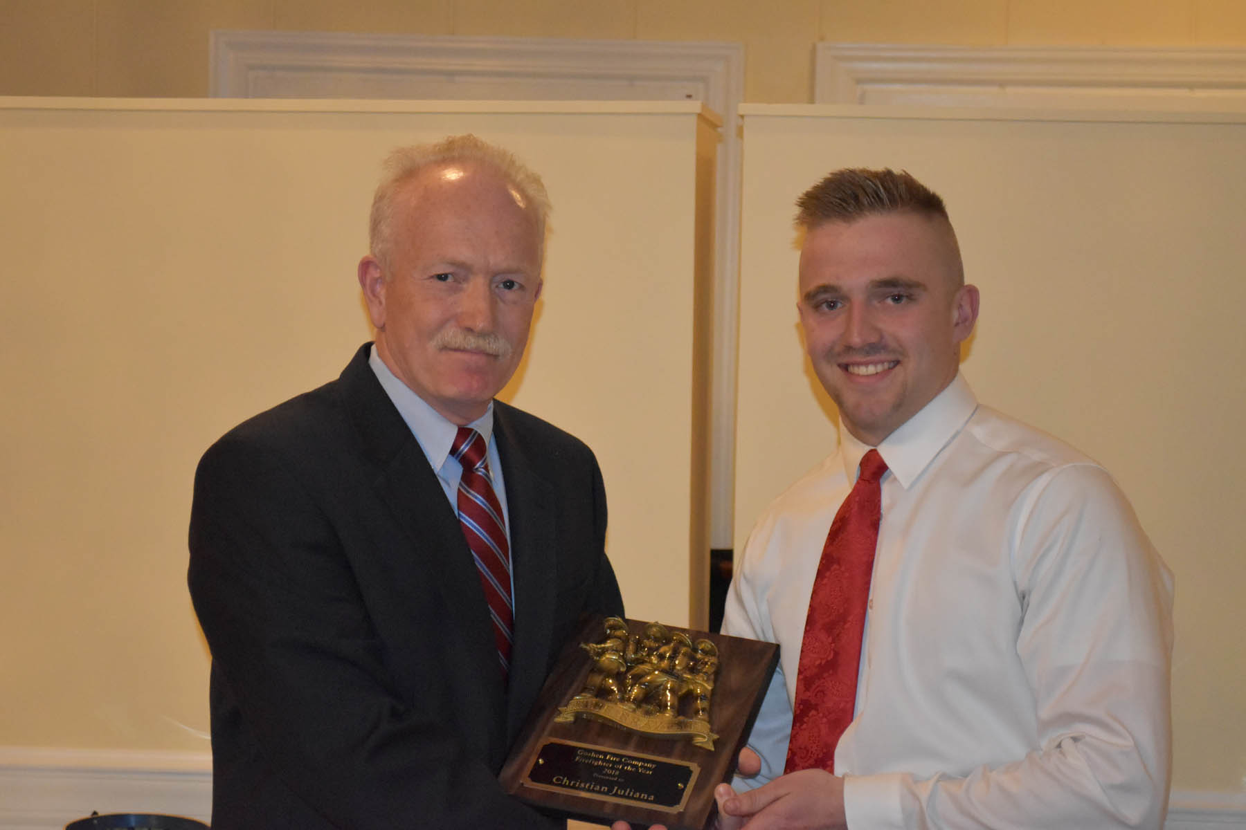 Goshen Fire Company Annual Awards Banquet 4/13/19