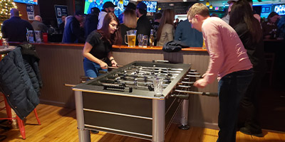 New Foosball Table at McSorleys Ale House in Ardmore!