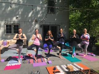Best time for yoga? Your Next Birthday Party!