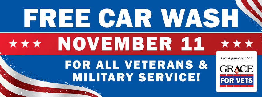 2020 Veterans Appreciation Car Washes