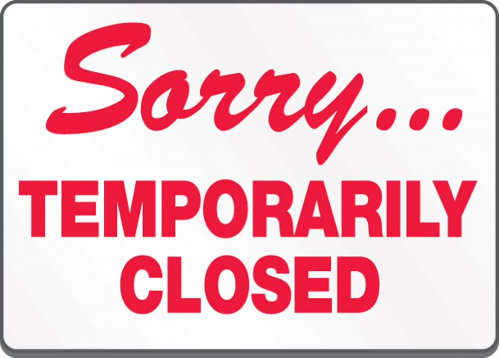COVID-19 Update: All Locations are Temporarily Closed